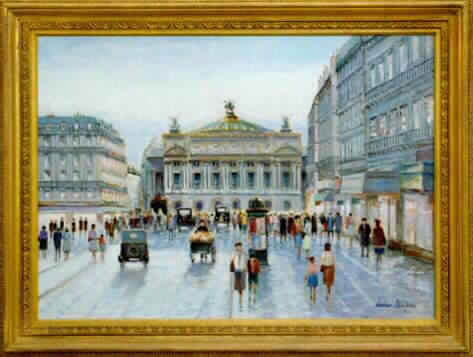 Paris - Opera (Sold)