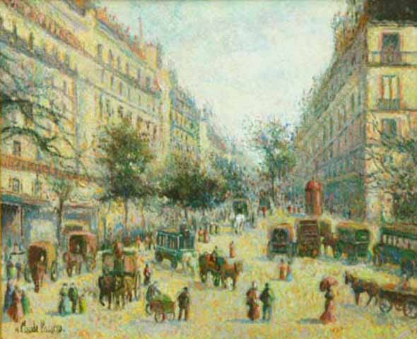 Paris en 1900 (Sold)