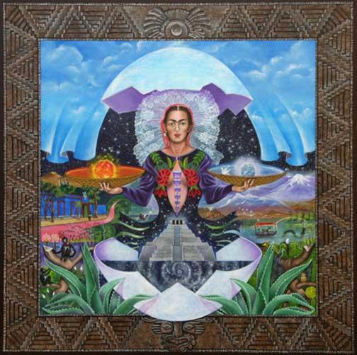 The Birth of Frida Kahlo Framed