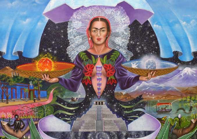 The Birth of Frida Kahlo