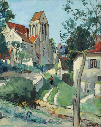 L'Eglise a Borest (Sold)