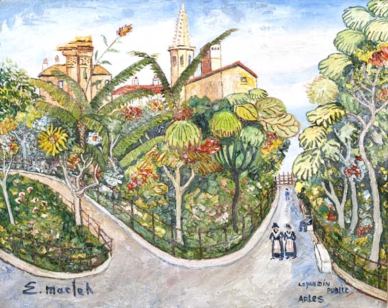 Le Jardin Public Arles (Sold)