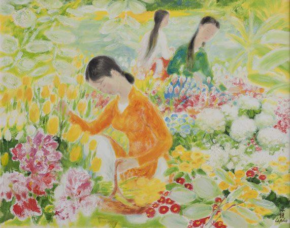 La Cueillette des Fleurs ...