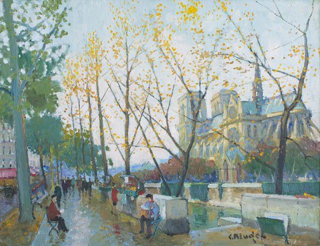 Le Quai et Notre Dame (Sold)
