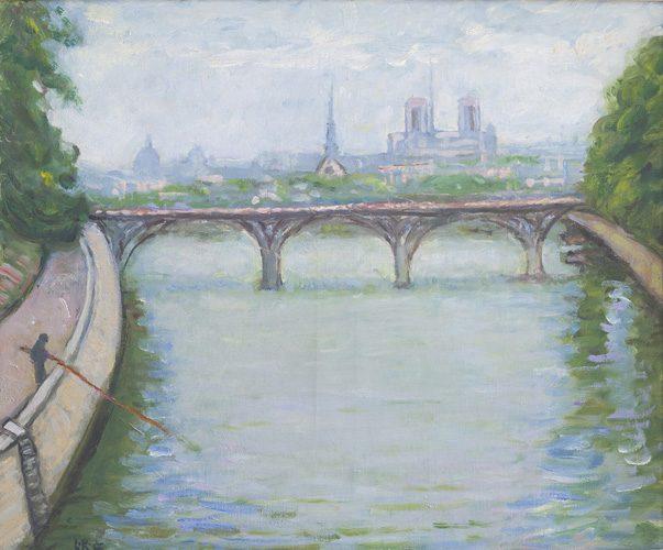 Along La Seine