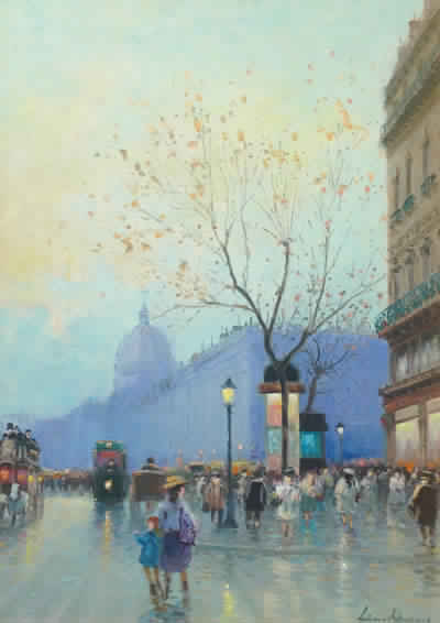 Paris Street Scene (Sold)