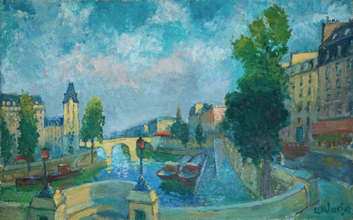 Vue de Seine (Sold)