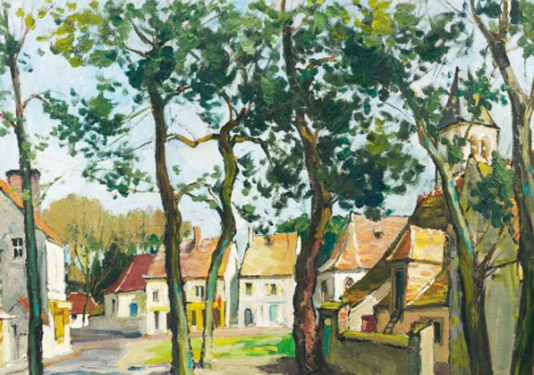 Vue d'un Village (Sold)