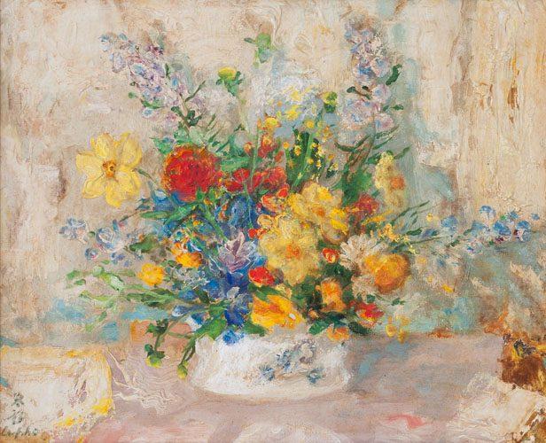 Floral Still Life (Sold)