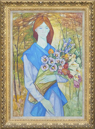 Florista Framed
