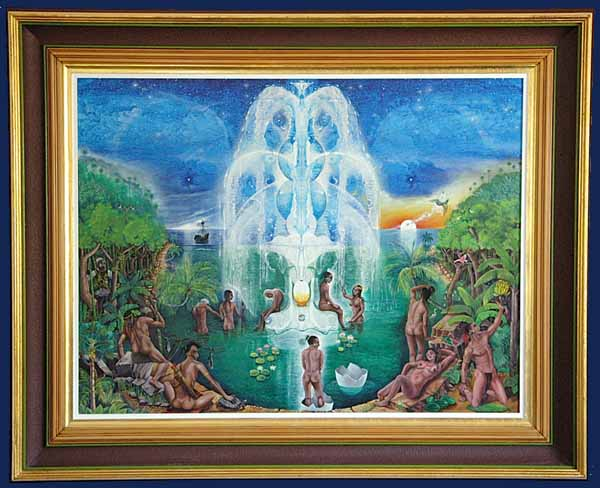 Fountain of Youth Framed