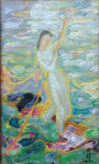 La Cueillette des Lotus (sold)