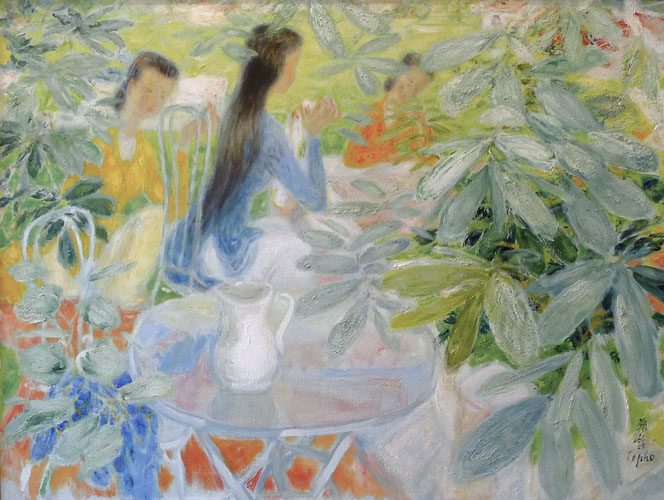 Tea in the Garden (Sold)